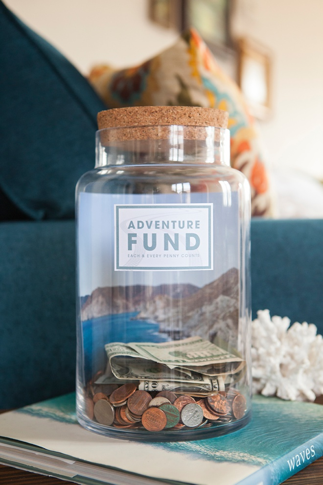 image about Savings Jar Printable identified as Deliver Your Personalized \
