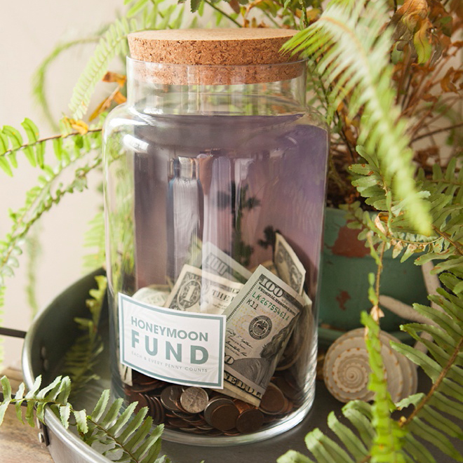 Make Your Own Fund Jar With 4 Different Free Labels