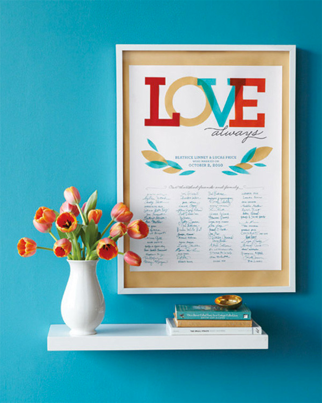 Printable Guest book