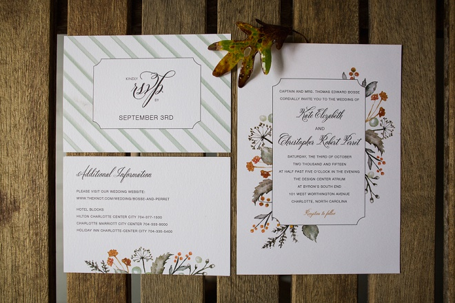 We're swooning over these Etsy Ceremony cards!