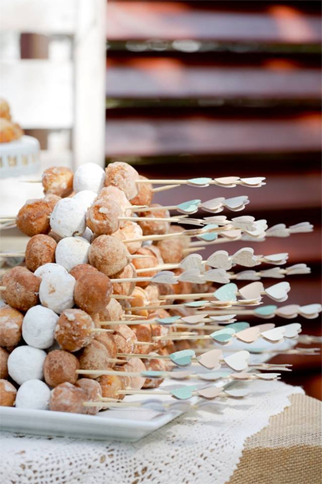 Donut Hole Skewers