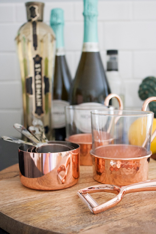 Stunning copper kitchen items from Williams-Sonoma!