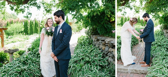 We're swooning over this darling first look!