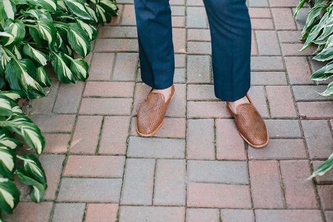 We love this handsome Groom's wedding shoe style!