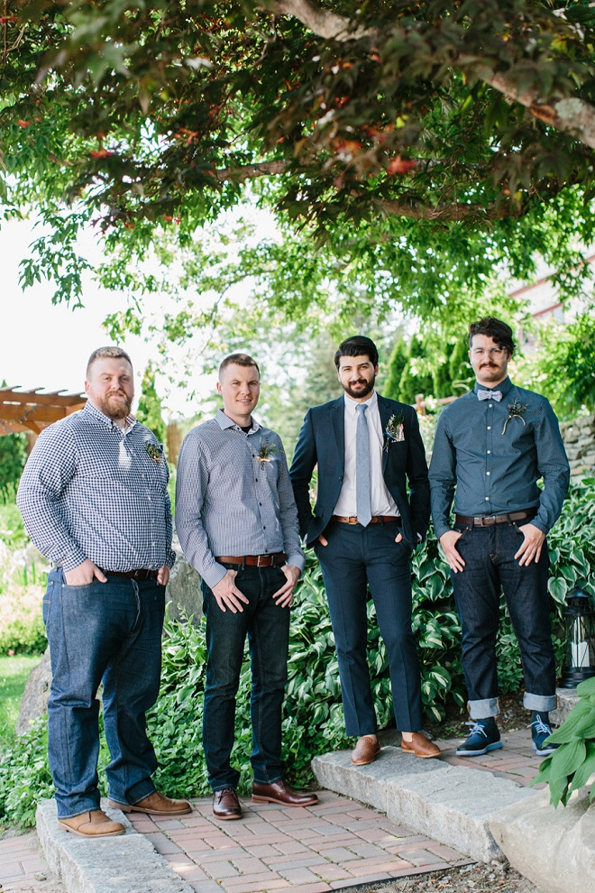 Loving this Groom and Groomsmen's style!