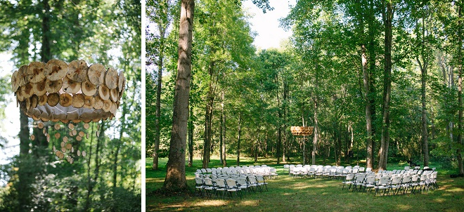 We love this gorgeous boho backyard wedding setup!