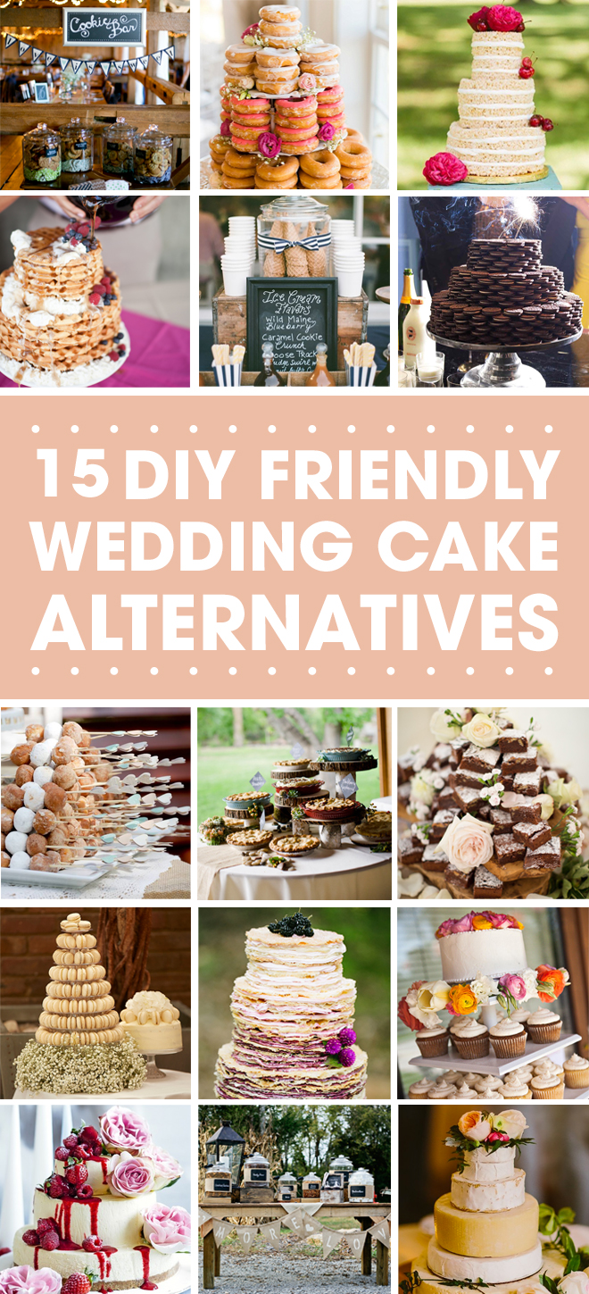 15 Wedding Cake Alternatives