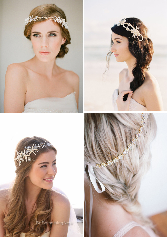 Gorgeous wedding headband finds from Etsy!
