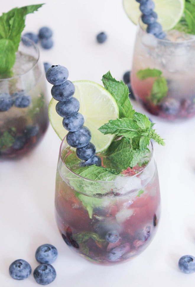 Awesome Blueberry Mojito Royale Recipe