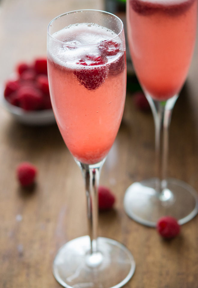 Awesome Champagne Punch Bellini Recipe