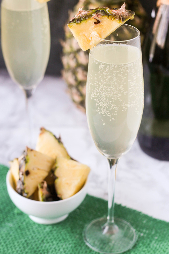 Awesome Pineapple Mimosa Recipe