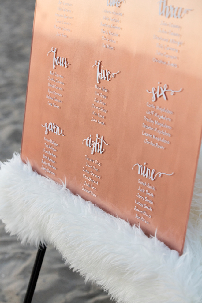 The best tutorial on making hand-lettered acrylic wedding signs using Chalk Ink Markers and paint!