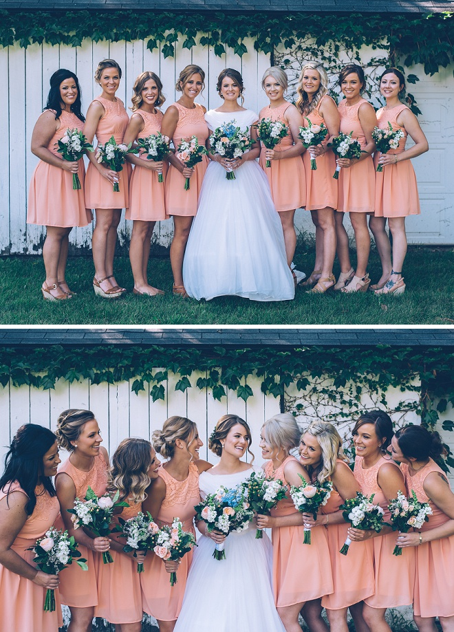 How fun is this Bride and her gorgeous Bridesmaids?! We're swooning!