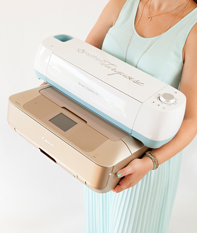 You could win a Cricut Explore Air and a Canon PIXMA MG7720 from Something Turquoise!