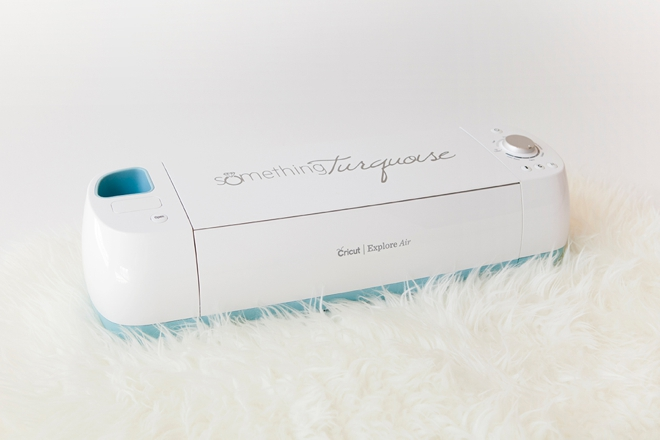 You could win a Cricut Explore Air from Something Turquoise!