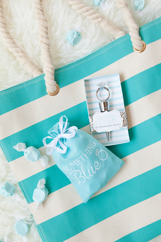 You could win a Kate Aspen tote and wine stopper from Something Turquoise!