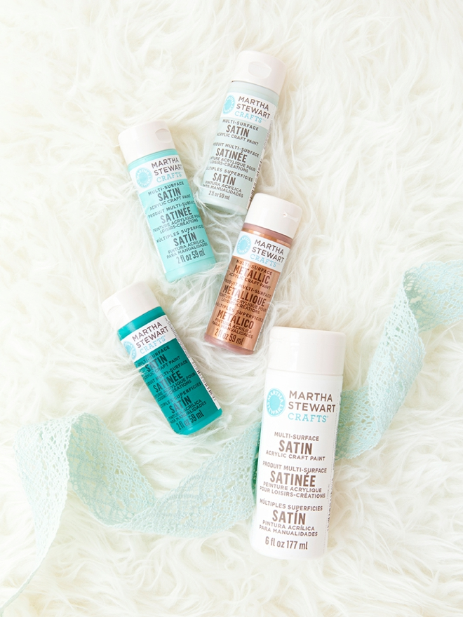 You could win Martha Stewart Craft Paint and brushes from Something Turquoise!
