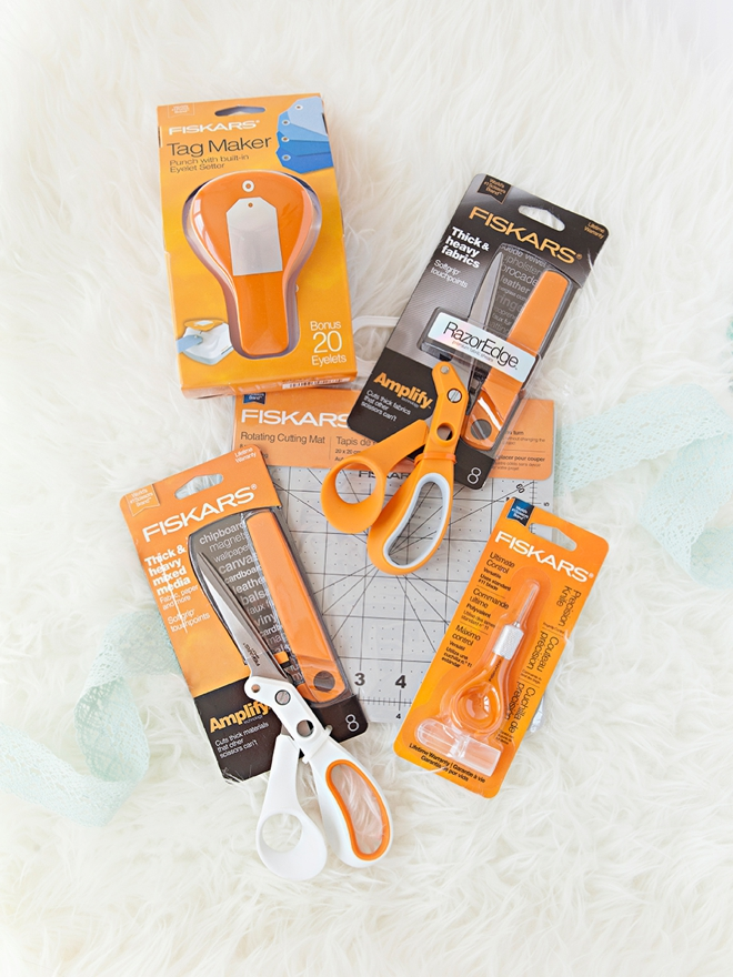You could win a huge stash of Fiskars tools from Something Turquoise!