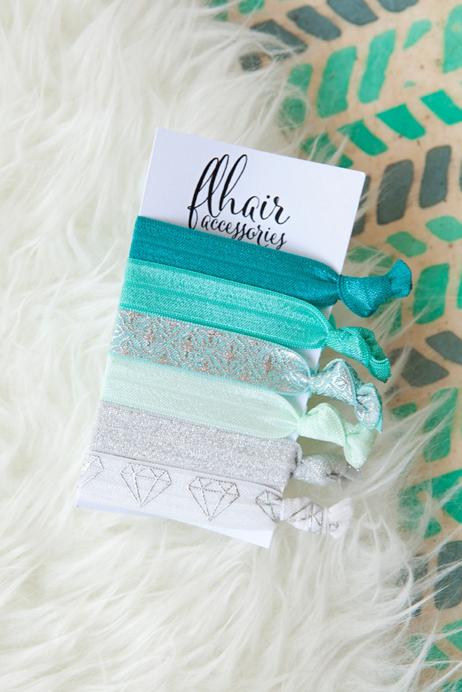You could win a flhair accessories hair tie set from Something Turquoise!