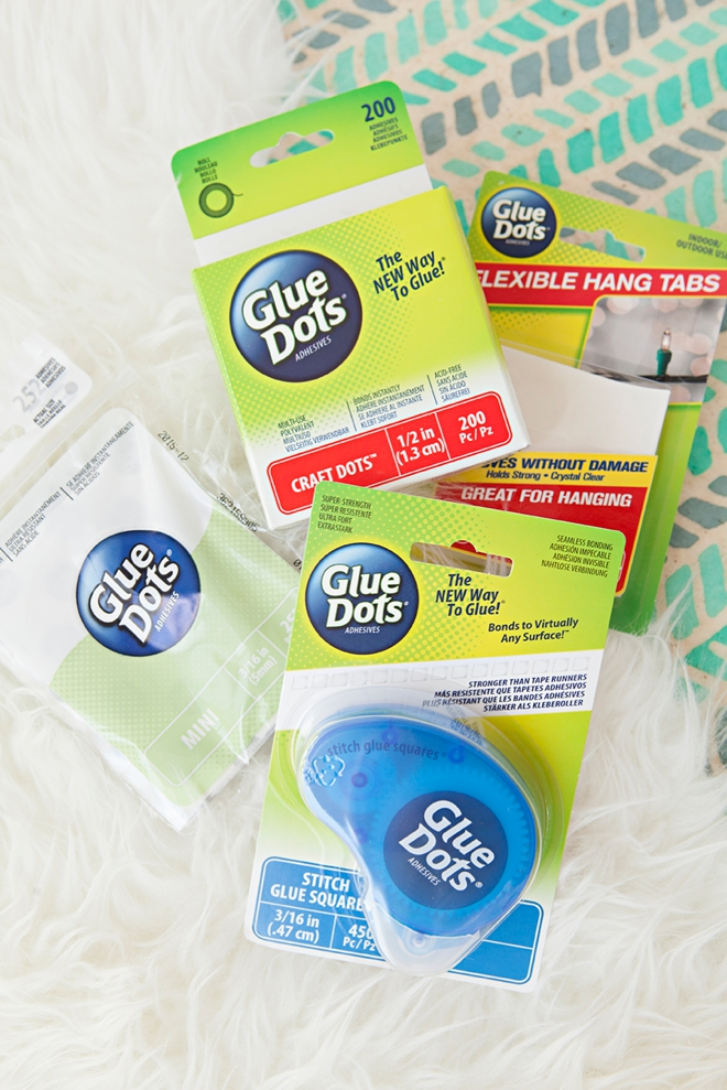You could win a huge stash of Glue Dots from Something Turquoise!
