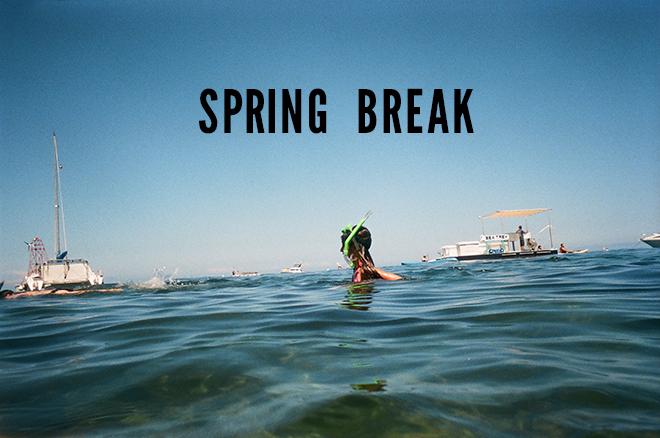 Something Turquoise is on Spring Break!