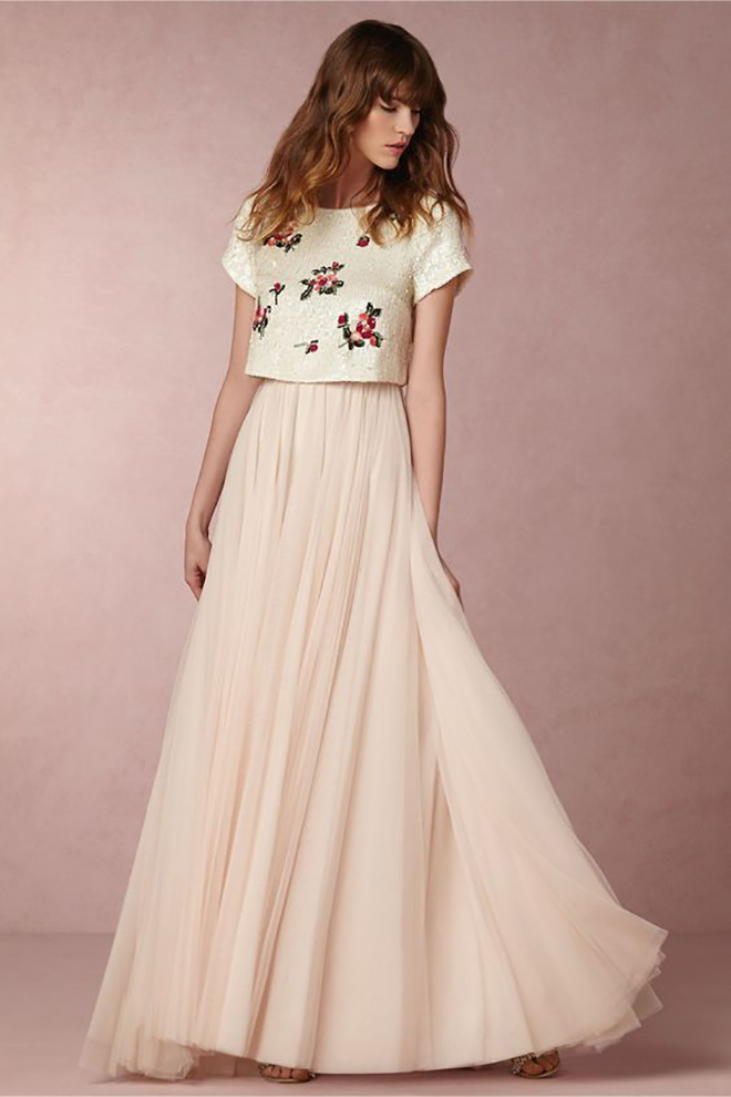 BHLDN Separates that make the most wonderful options for creative brides