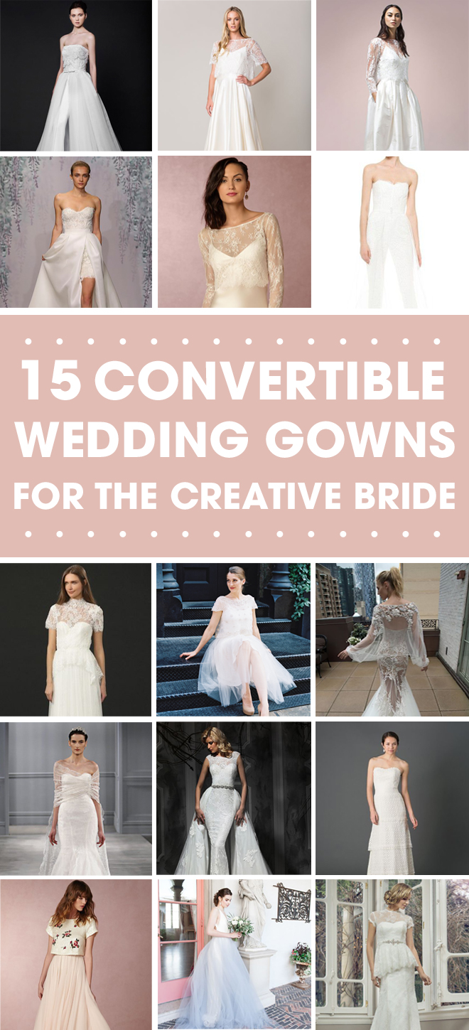 Check out these amazing convertible wedding dresses 15 stunning convertible wedding gown options junglespirit Images