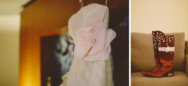 We're swooning over this Bride's gorgeous details and attire!