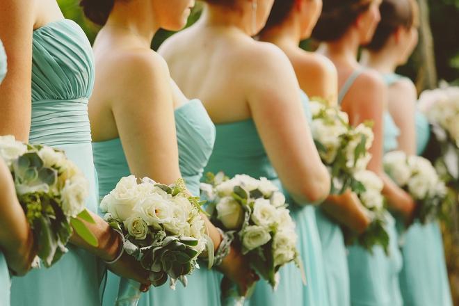 Loving this Bridemaid ceremony shot - so beautiful!