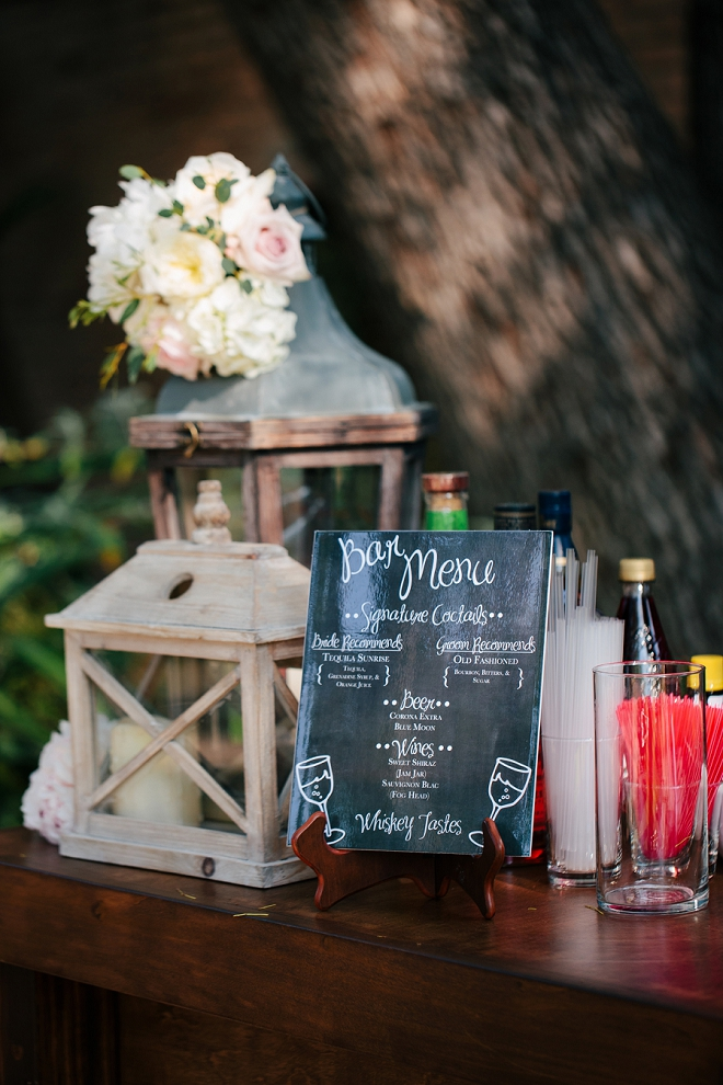 Loving this receptions fun bar sign from Etsy!