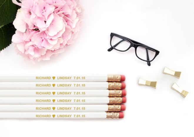Personalized Pencils By Macaronimosas