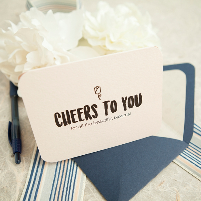 Make These Darling Wedding Vendor Thank You Cards!