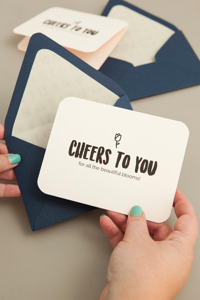 Make These Darling Wedding Vendor Thank You Cards – Free Printable Wedding Thank You Cards