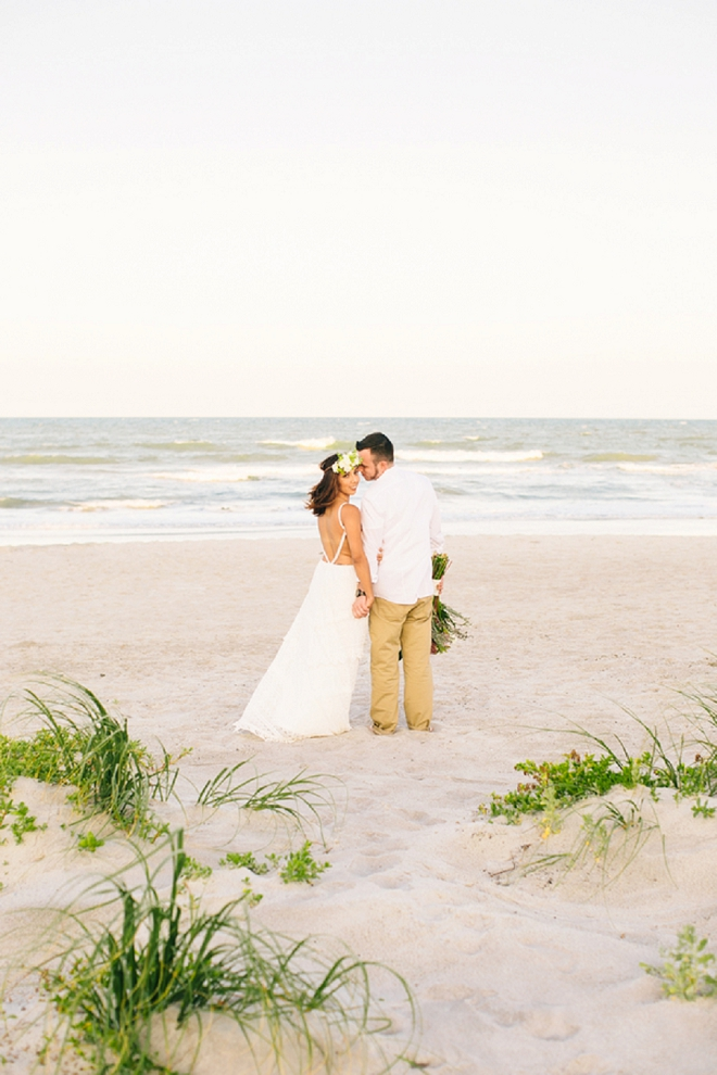 We're swooning over this gorgeous boho anniversary shoot!