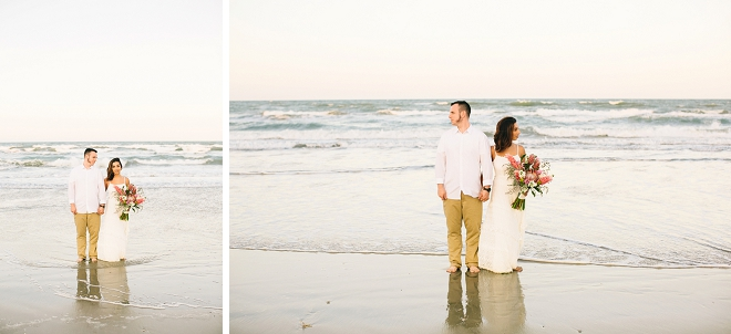 Swooning over this gorgeous anniversary shoot on the beach!