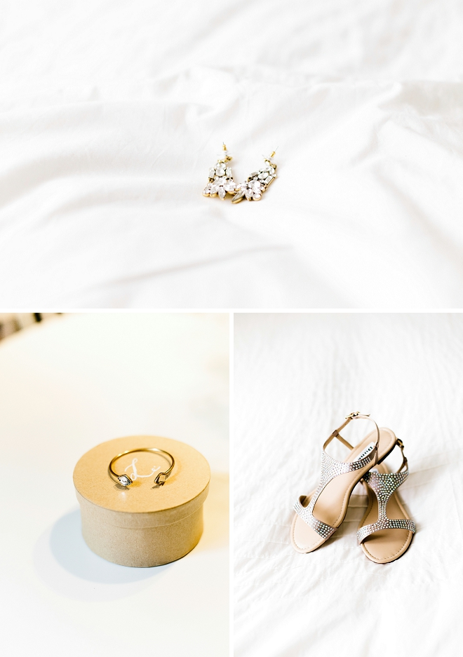 We're loving this Bride's dainty details for her big day!