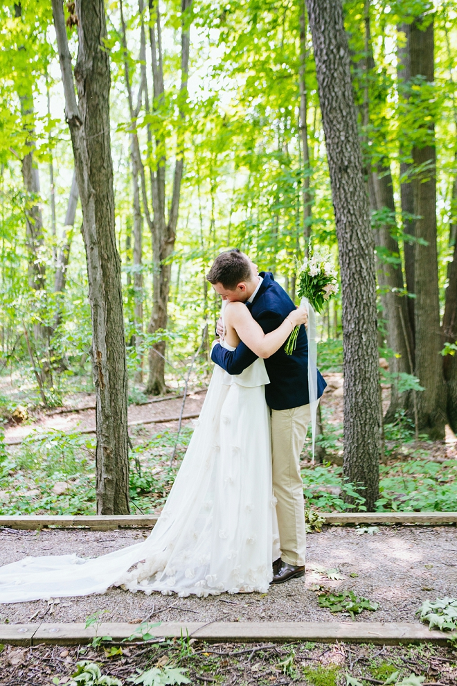 We're in LOVE with this super sweet first look!