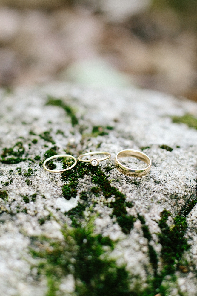 We love this gorgeous and delicate ring shot! Swoon!