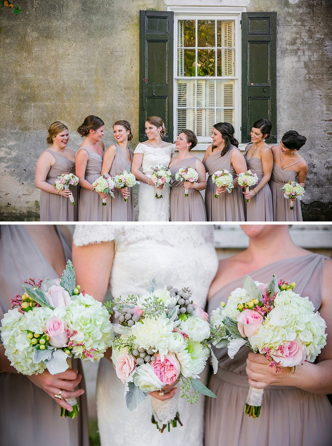 Such a fun photo of the Bride and her Bridesmaids!