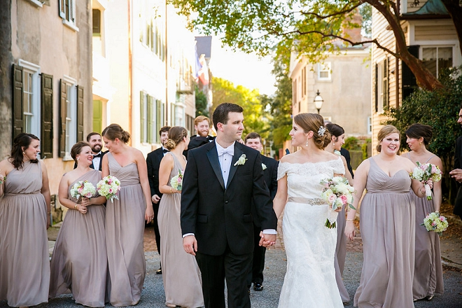 We love this classic Charleston wedding and style!