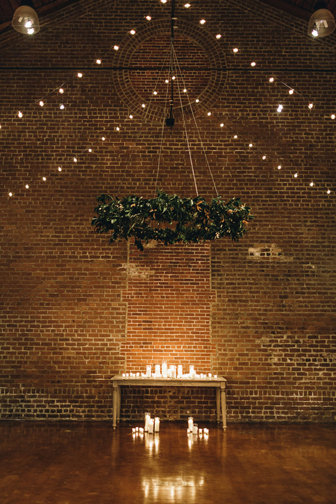 Swooning over this breathtaking lit ceremony!