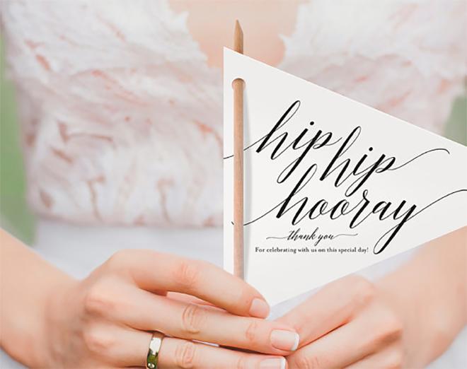15 Fabulous Unique Wedding Program Ideas