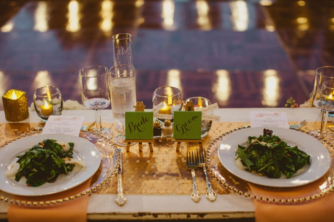 How cute is this sweetheart table decor!?