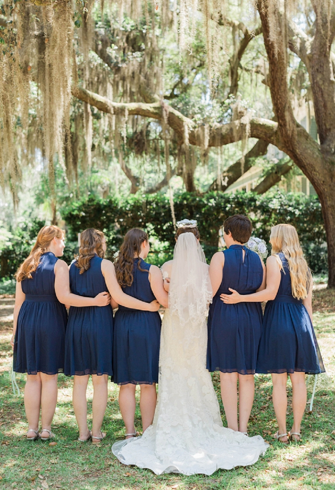We love this gorgeous Bride and her darling Bridesmaids!