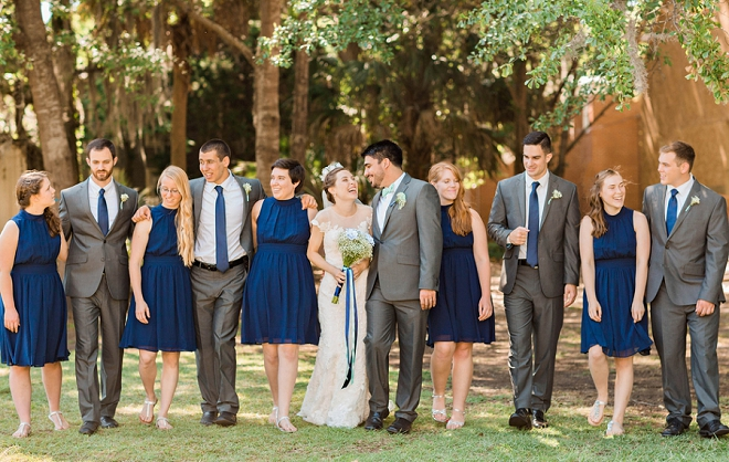 We love this gorgeous couple and their bridal party!
