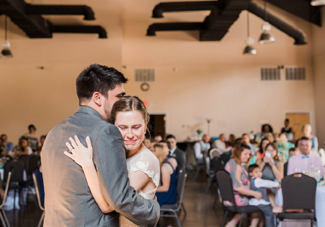 We're loving this new Mr. and Mrs. super sweet first dance!