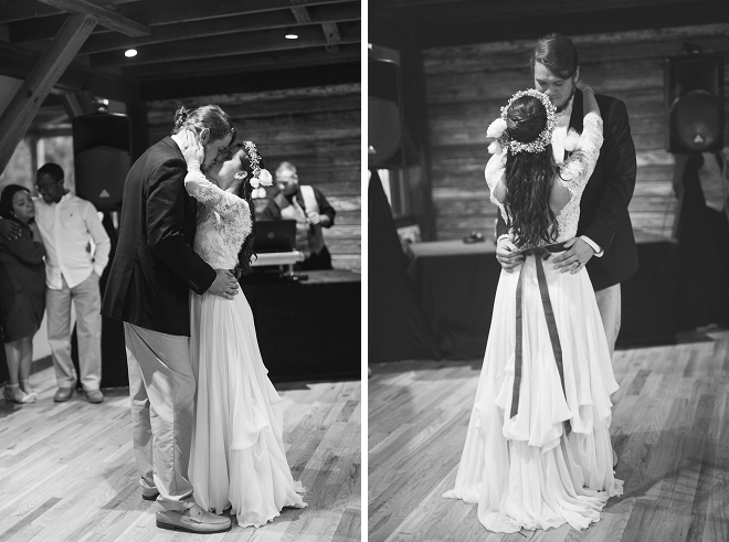 We love this super sweet snap of this new Mr. and Mrs. first dance! Swoon!