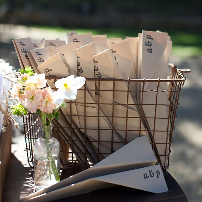 15 Fabulous + Unique Wedding Program Ideas