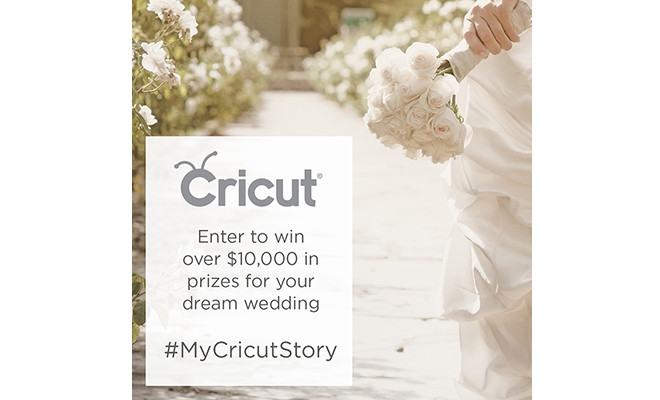 HUGE Cricut Wedding Giveaway!