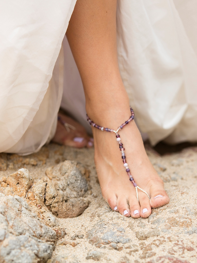 007e891a6f4 Make Your Own Custom Barefoot Beach Wedding Sandals!